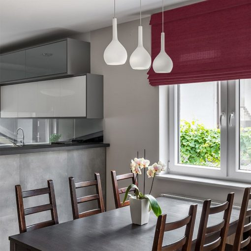 Luxe Burgundy Roman Blinds Beautiful Roman Blinds Online