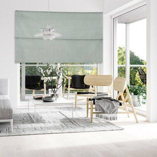 lounge roman blinds bonny spray