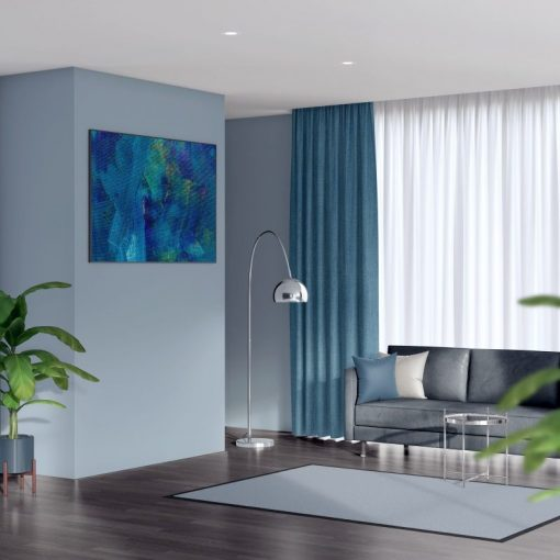 luxury lounge curtains bonny teal