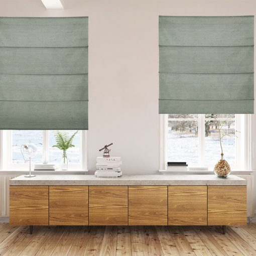 roman blinds luxe basil