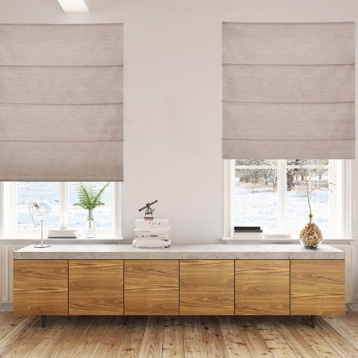roman blinds luxe beige