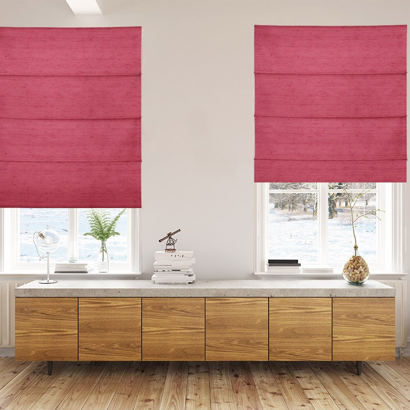 Luxe Calypso Roman Blinds Beautiful Roman Blinds Online