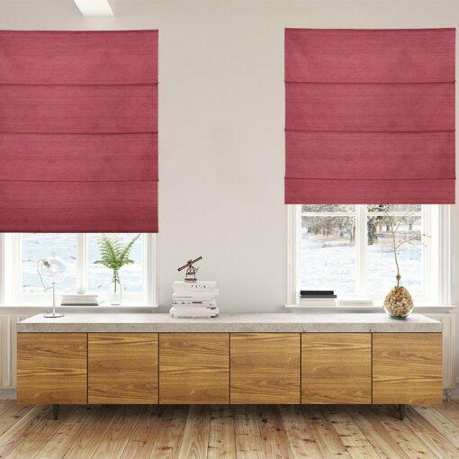 roman blinds luxe cardinal