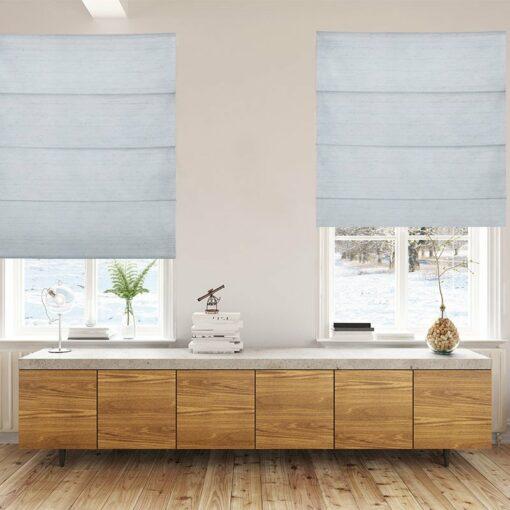 roman blinds luxe celadon