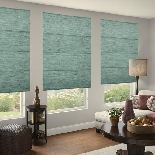roman blinds online delta azure
