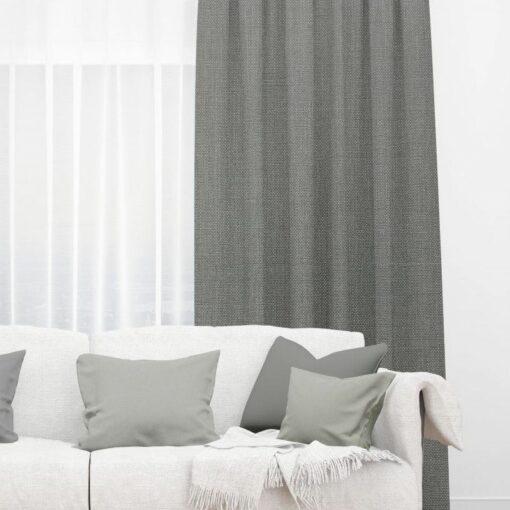 thermal curtains matrix gunmetal