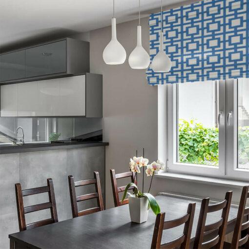 ready made blinds mykonos azure