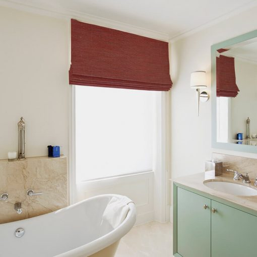 ready made blinds silk road cherry