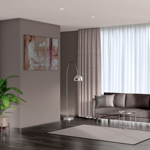 ready made curtains luxe ecru