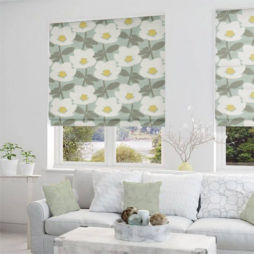 roman blinds charlbury duckegg