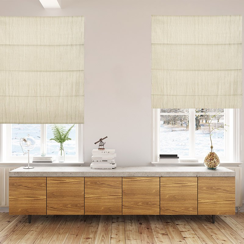 Lourdes Ivory Blackout Blinds Quality Curtains And