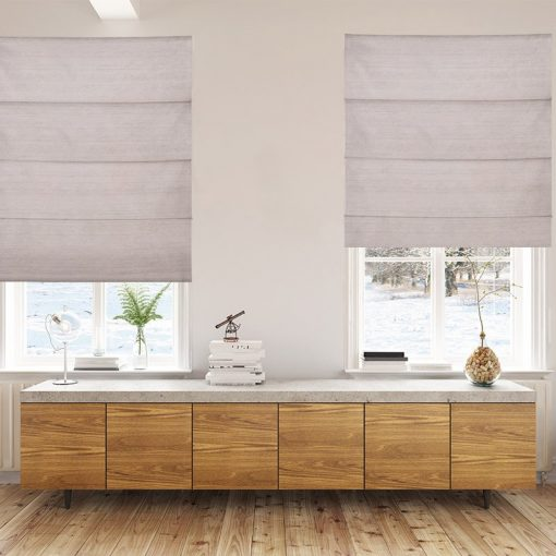 roman blinds luxe ecru