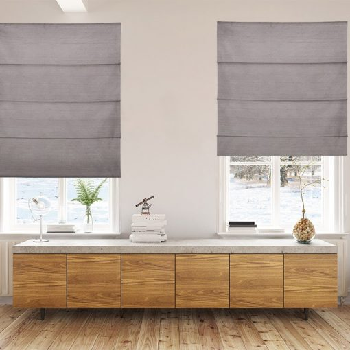 roman blinds luxe iron