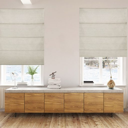 roman blinds luxe ivory