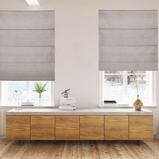 roman blinds luxe linen