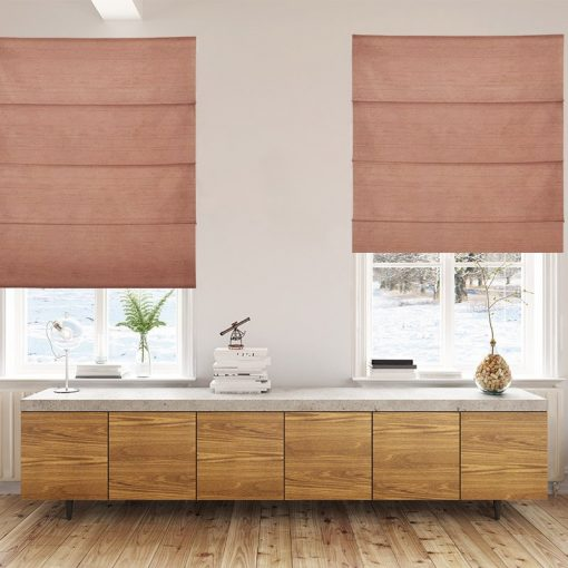 roman blinds luxe sunburn