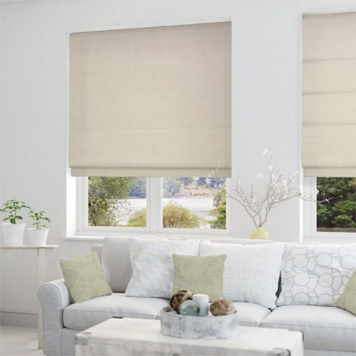 roman blinds nz lourdes alabaster1