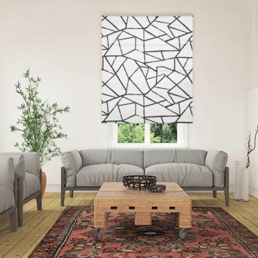 roman blinds polygon jet