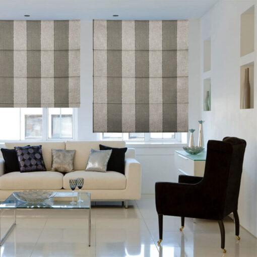 roman blinds zanella licorice
