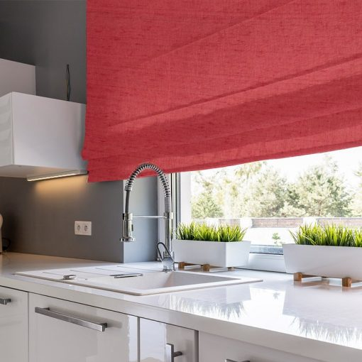 window treatments luxe strawberry