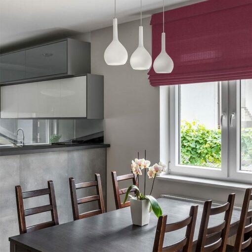 window treatments zing plum