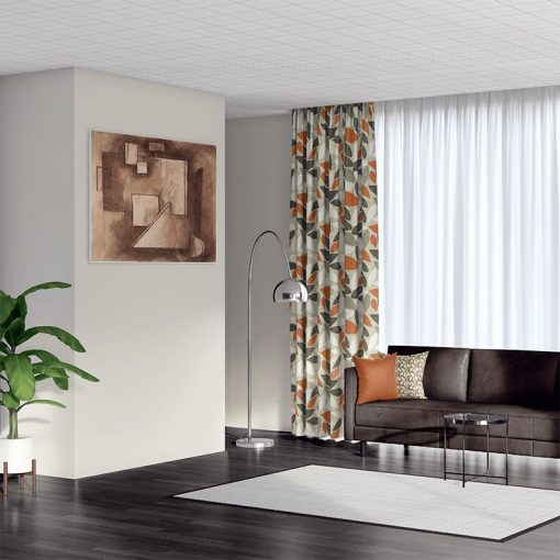 blackout curtains leafield mango
