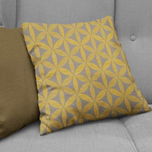 cushions nz tapa citron