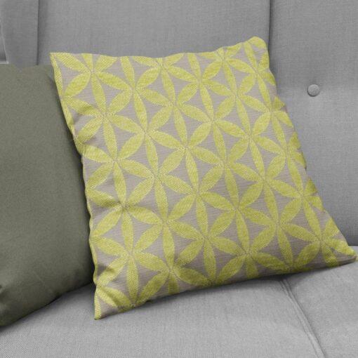 cushions nz tapa lime