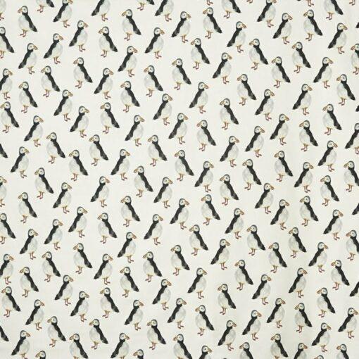 fabrics online nz puffin black