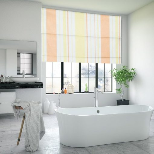 Groovy Sunset Fabric Blinds Quality Affordable Rods And