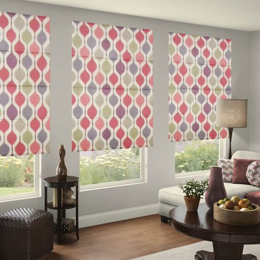 ready made blinds verve berry