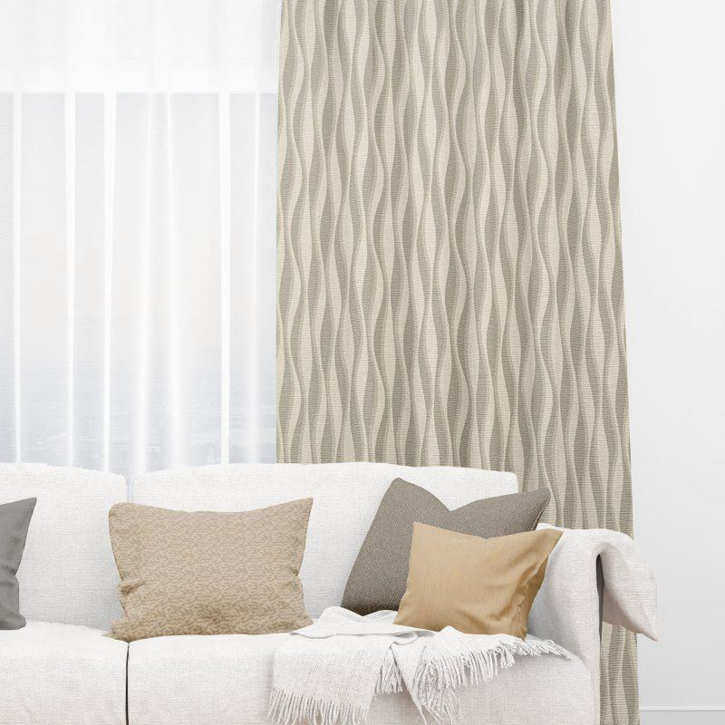 Bamboo Window Treatments Intricately Striped Blinds Nz