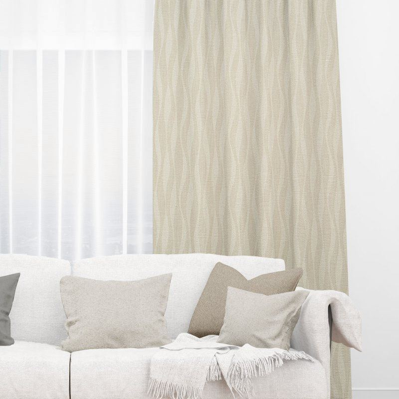 Bamboo Feather Fabric Blinds Quality Affordable Rods And
