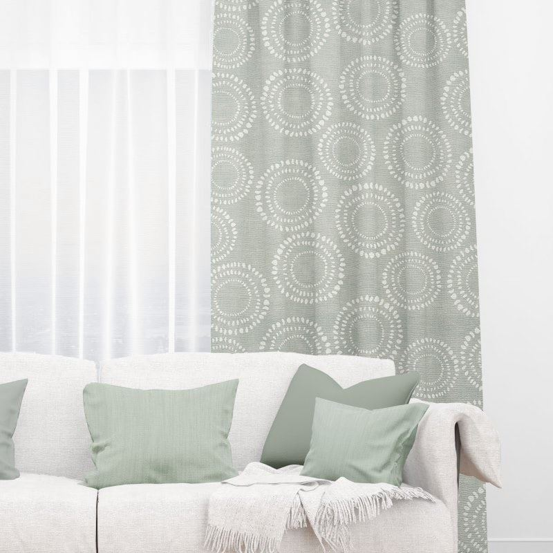 Honeybourne Pebble Block Out Curtains Several Types Of