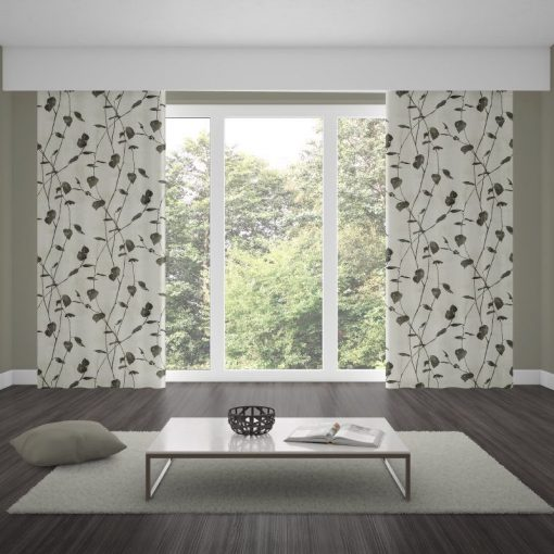 ready made curtains linfield charcoal