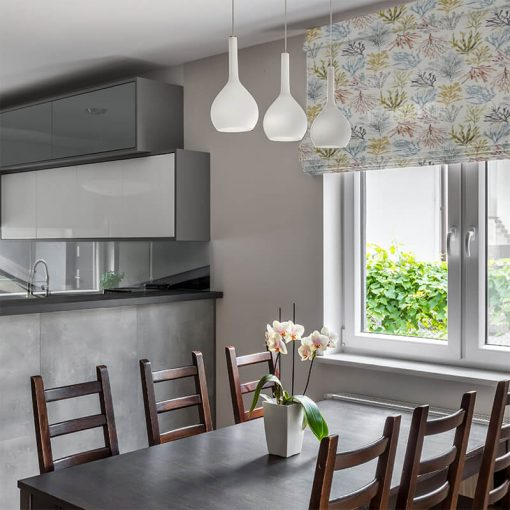 roman blinds coral tropical