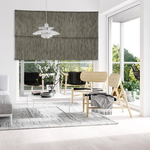 Fold Brindle Window Treatments Intricately Striped Blinds Nz
