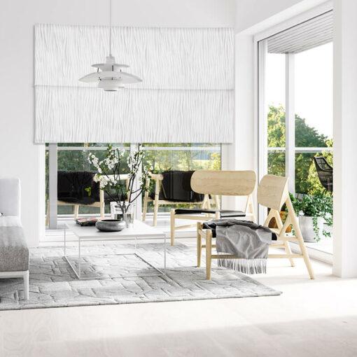 roman blinds fold gardenia
