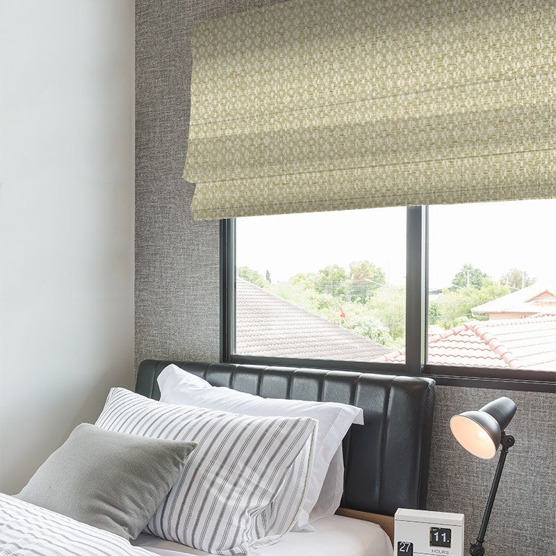 Kennedy Hessian Fabric Blinds Quality Affordable Rods