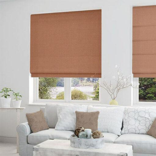 roman blinds structure amberglow