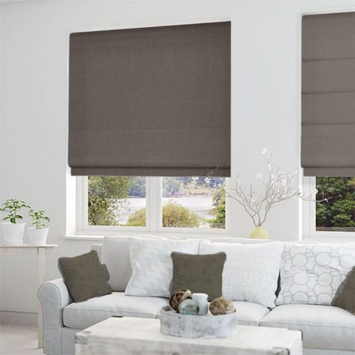 roman blinds structure cinnamon