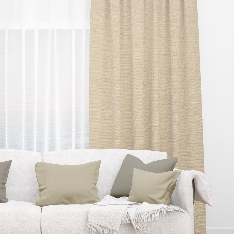 Moire Sand Roman Shades Online Deluxe Electric Blinds