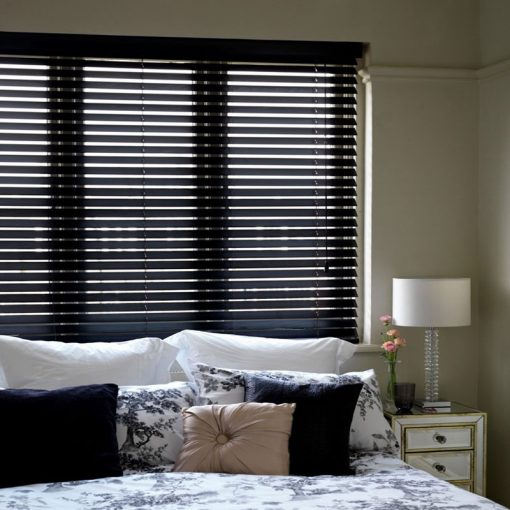 Slat Blinds True Wood UV Black