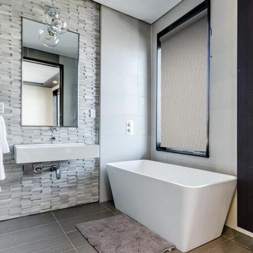 bathroom blinds nz shore white grey