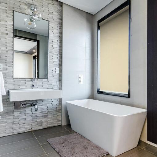 bathroom roller blind scribe loft