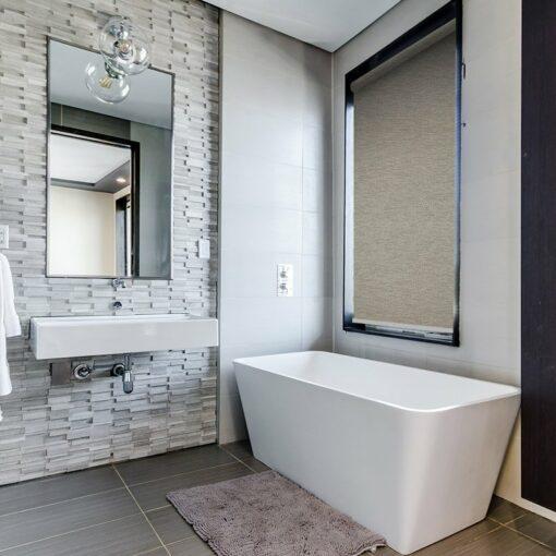 bathroom roller blinds kyle oyster