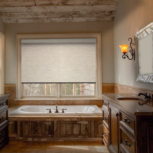 bathroom roller blinds lantra seed pearl