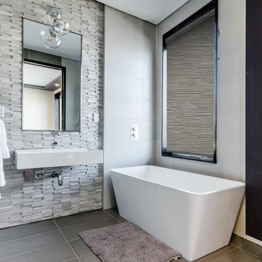 bathroom roller blinds reve graphite