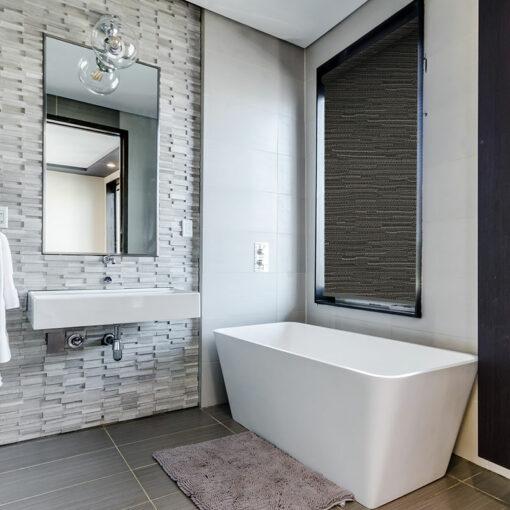 bathroom roller blinds reve pewter
