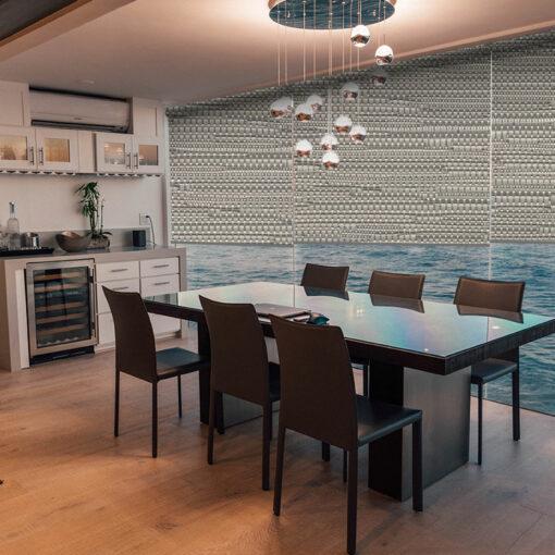 dining room roller blinds reve marble